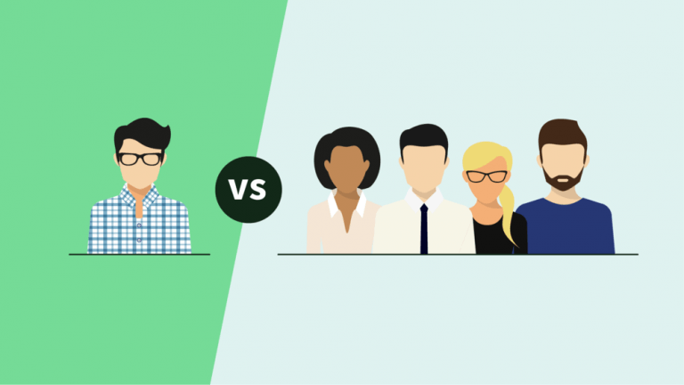 Freelancer Vs. An Agency