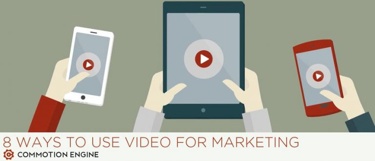 8 Ways to use video for marketing